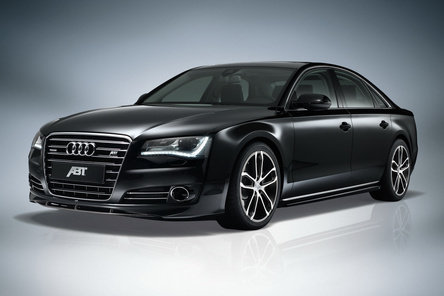 Festin in negru: Audi A8 by ABT