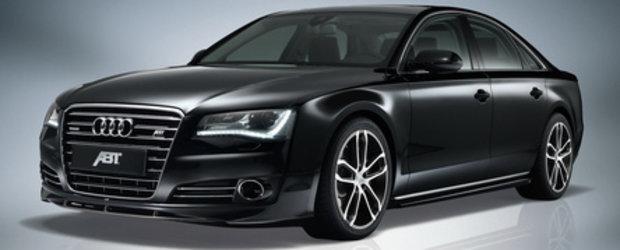 Festin in negru: Audi A8 by ABT