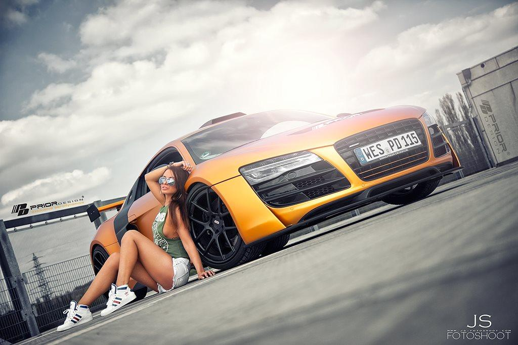 Картинки с добрым утром девушки и машины