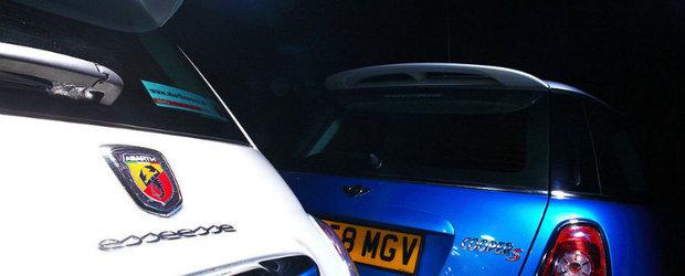 Fiat 500 Abarth Esseesse versus Mini Cooper S