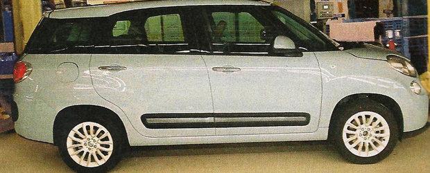 Fiat 500 XL, prima imagine