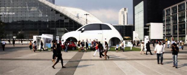 Fiat 500C gigant, intr-un tur al Europei