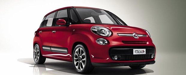 Fiat 500L - prima reclama oficiala