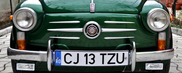 Fiat 600 D - definitia pasiunii pentru masini clasice