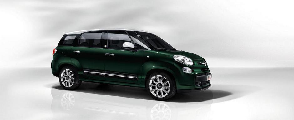 Fiat a lansat noul 500L Living