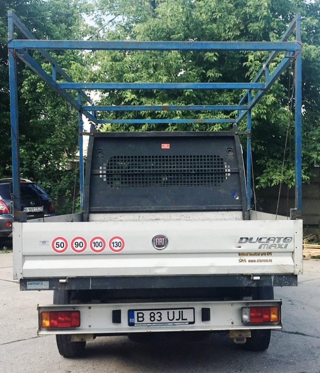 Fiat Ducato 2,3D Multijet 120CP, 7 locuri,primul proprietar,Km reali,carte service