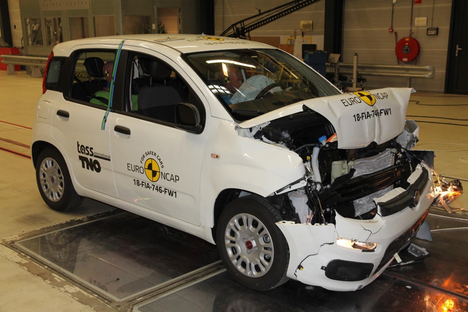 Fiat Panda Euro NCAP - Fiat Panda Euro NCAP