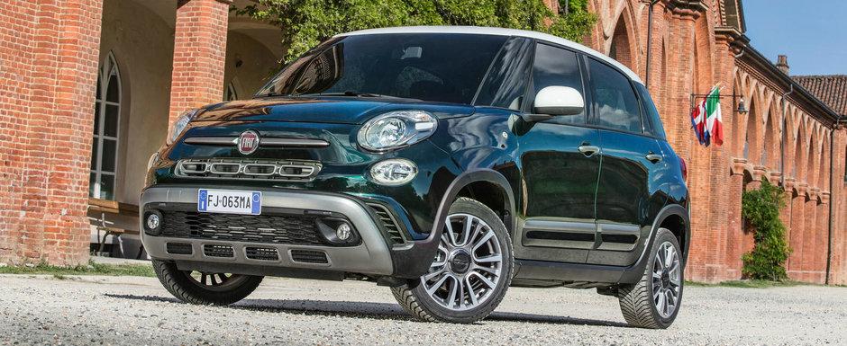 Fiat prezinta noul 500L facelift. Modelul de familie are 40% componente noi