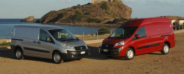 Fiat recheama in service-urile din Romania 151 de masini Scudo