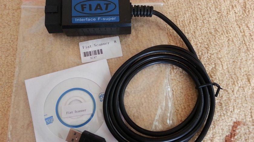 Fiat Scanner - interfata de diagnoza pentru Fiat, Alfa-Romeo si Lancia