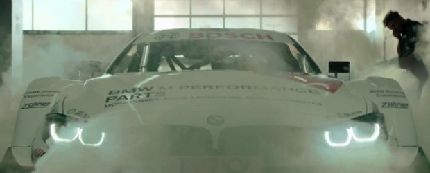 Filmul care ne arata cum decurge inspectia tehnica a unui BMW de curse