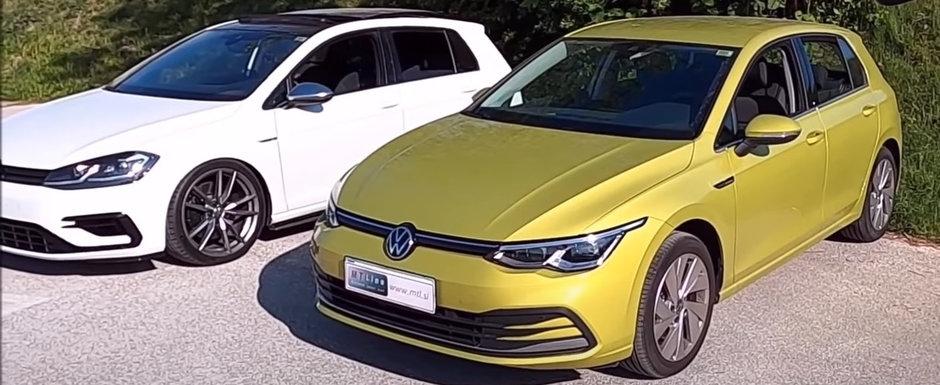Filmul pe care VW nu vrea sa-l vezi. Cat de mult a scazut calitatea la noul Golf 8 comparativ cu Golf 7.5