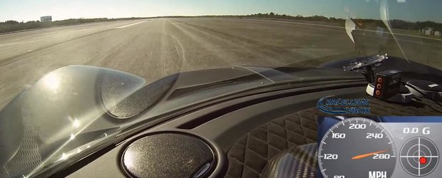 Filmul recordului realizat de Hennessey Venom GT: cum arata 435 km/h
