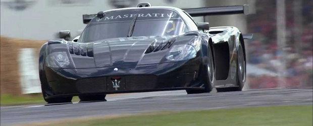 Filmul Zilei: Un Maserati MC12 GT1 face spectactol la Goodwood 2014