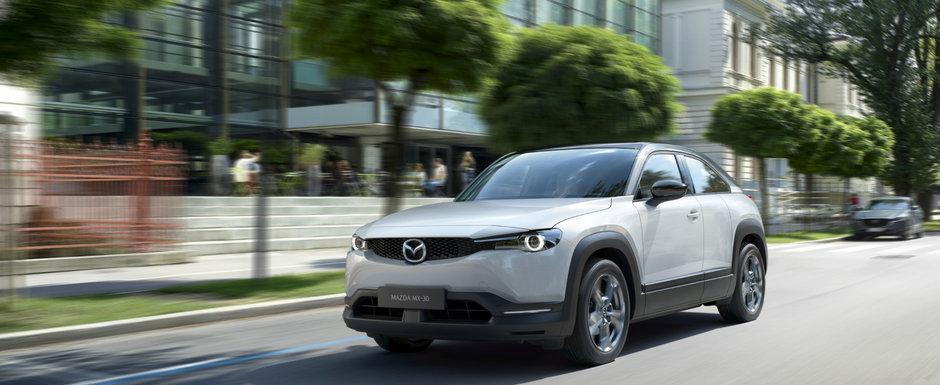 Filosofia Kodo castiga tot. Noile Mazda CX-30 si MX-30 au cucerit cu design-ul lor juriul Red Dot