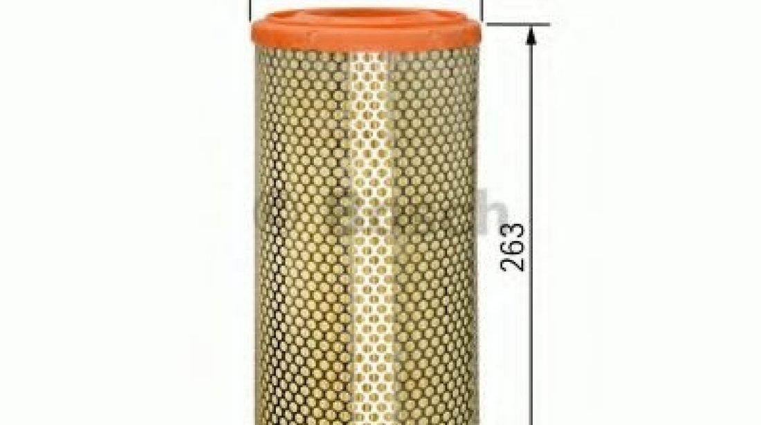 Filtru aer AUDI A2 (8Z0) (2000 - 2005) BOSCH 1 457 433 538 produs NOU