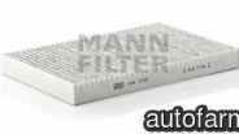 Filtru aer habitaclu AUDI 100 Avant 4A C4 MANN-FILTER CUK 3192