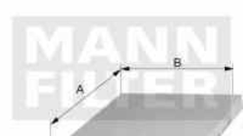 Filtru, aer habitaclu FORD TRANSIT CONNECT (P65_, P70_, P80_) MANN-FILTER FP 3567