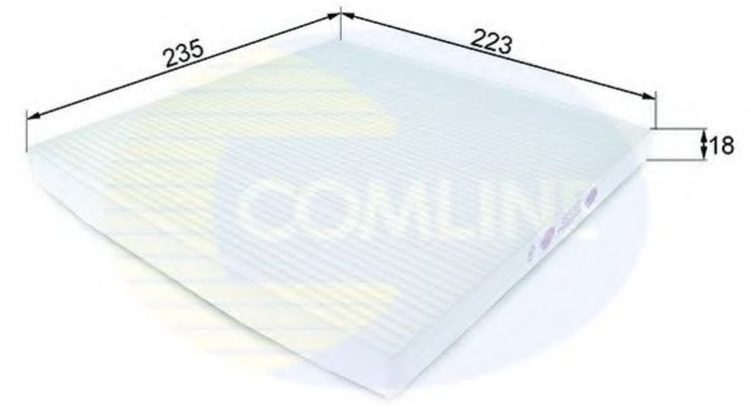 Filtru, aer habitaclu RENAULT MEGANE I Scenic (JA0/1) (1996 - 2001) COMLINE EKF213 piesa NOUA