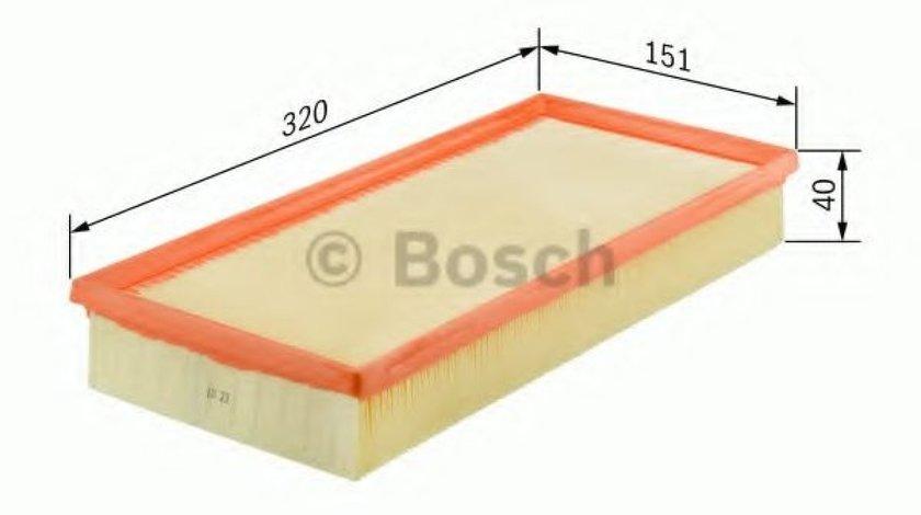 Filtru aer LANCIA MUSA (350) (2004 - 2012) BOSCH 1 457 433 317 - produs NOU