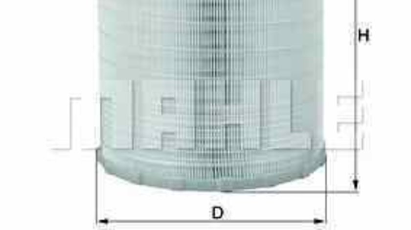 Filtru aer MERCEDES-BENZ ATEGO 2 KNECHT LX 3480 KIT