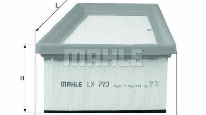 Filtru aer NISSAN KUBISTAR caroserie X80 KNECHT LX 773