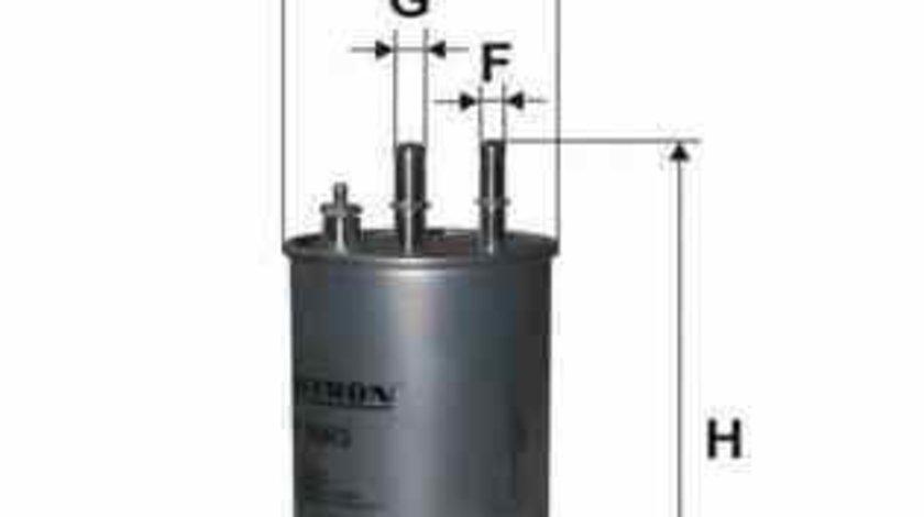 filtru combustibil ALFA ROMEO 159 Sportwagon 939 FILTRON PP966/3
