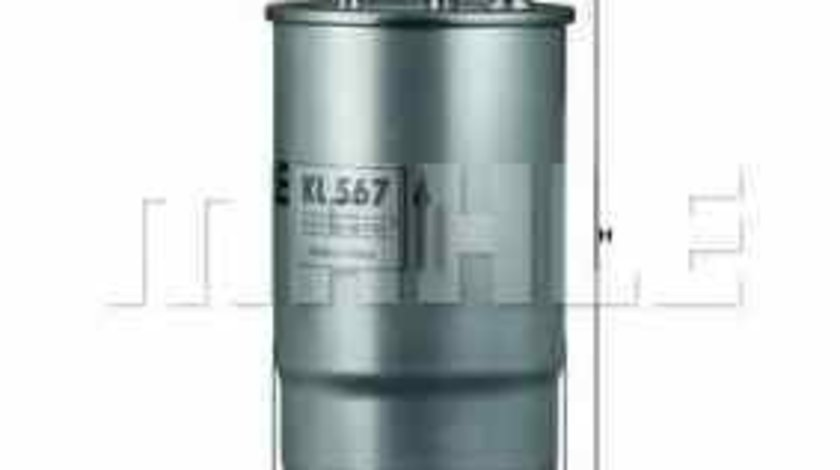 filtru combustibil ALFA ROMEO SPIDER 939 KNECHT KL 567