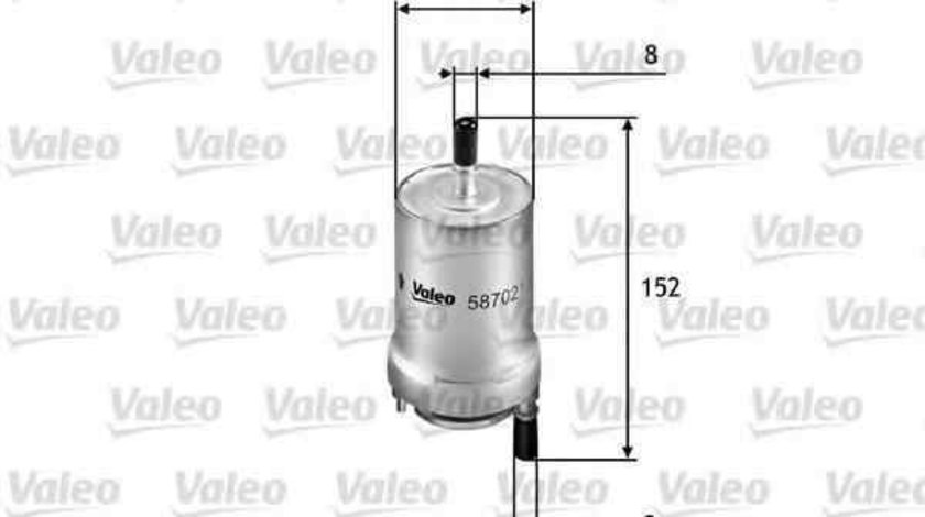 Filtru combustibil AUDI A3 Sportback (8PA) VALEO 587021