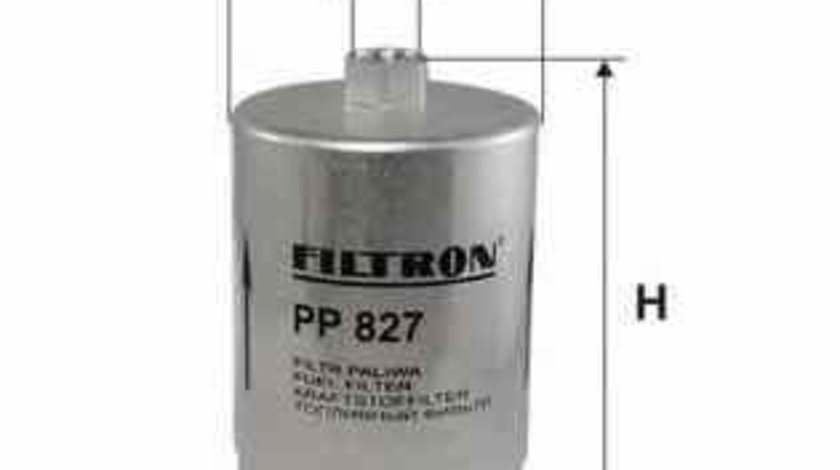 Filtru combustibil AUDI A4 8D2 B5 FILTRON PP827