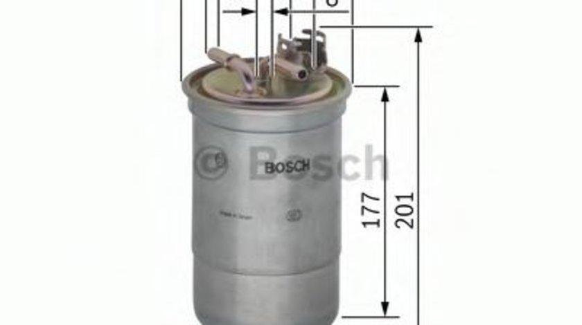 Filtru combustibil AUDI A6 (4B2, C5) (1997 - 2005) BOSCH 0 450 906 374 produs NOU