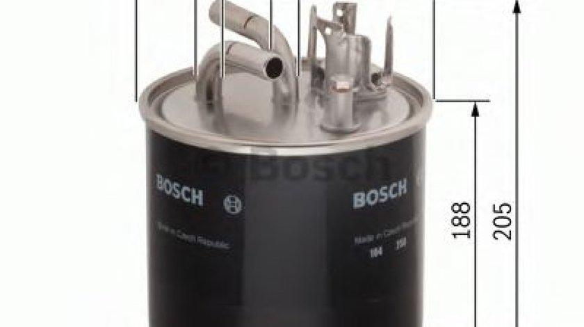Filtru combustibil AUDI A6 Allroad (4FH, C6) (2006 - 2011) BOSCH 0 450 906 459 produs NOU