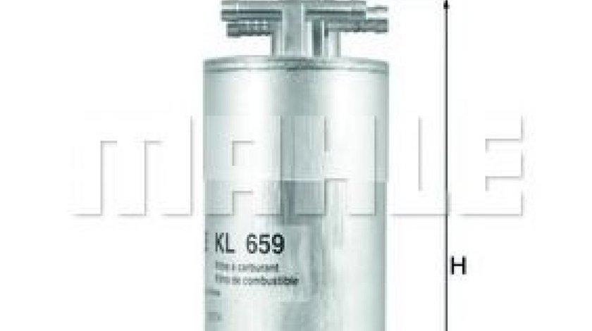 Filtru combustibil AUDI A6 Allroad (4FH, C6) (2006 - 2011) MAHLE ORIGINAL KL 659 produs NOU