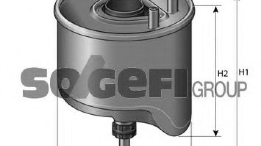 Filtru combustibil CITROEN BERLINGO (B9) (2008 - 2016) PURFLUX CS762 produs NOU
