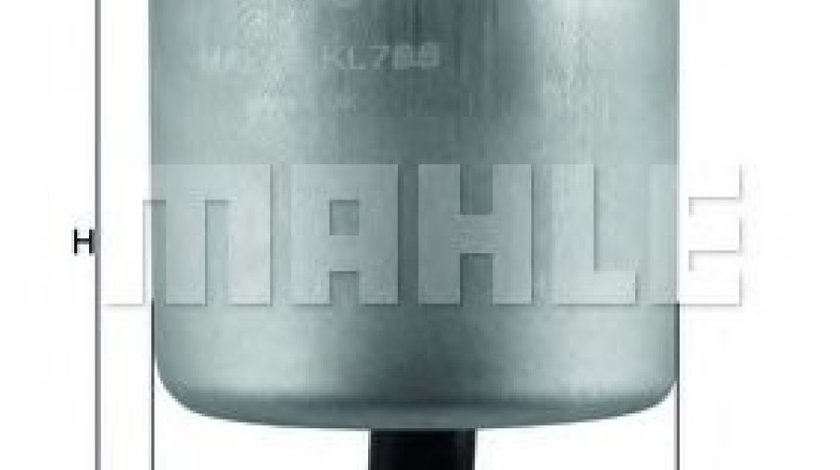 Filtru combustibil CITROEN BERLINGO caroserie (B9) (2008 - 2016) MAHLE ORIGINAL KL 788 produs NOU