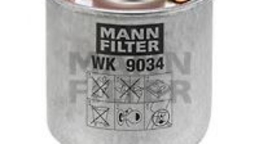 Filtru combustibil CITROEN BERLINGO platou / sasiu (B9) (2008 - 2016) MANN-FILTER WK 9034 z produs NOU