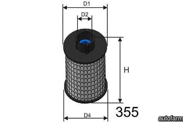 filtru combustibil FIAT MULTIPLA 186 Producator FIAT 51773592