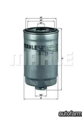 filtru combustibil KIA MAGENTIS MG KNECHT KC 101/1