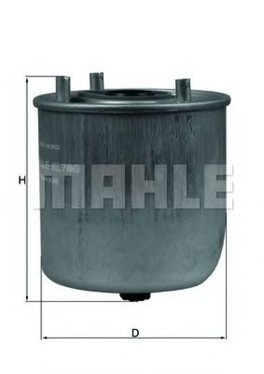 Filtru combustibil MAZDA 2 (DE) (2007 - 2015) MAHLE ORIGINAL KL 780 produs NOU