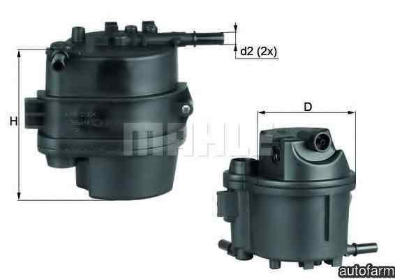 filtru combustibil MAZDA 2 DE KNECHT KL 777D