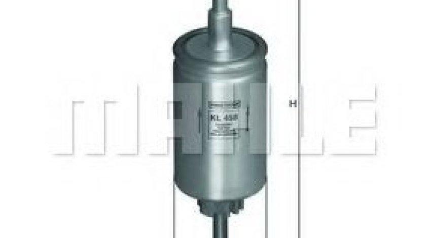 Filtru combustibil MAZDA 2 (DY) (2003 - 2016) MAHLE ORIGINAL KL 458 produs NOU