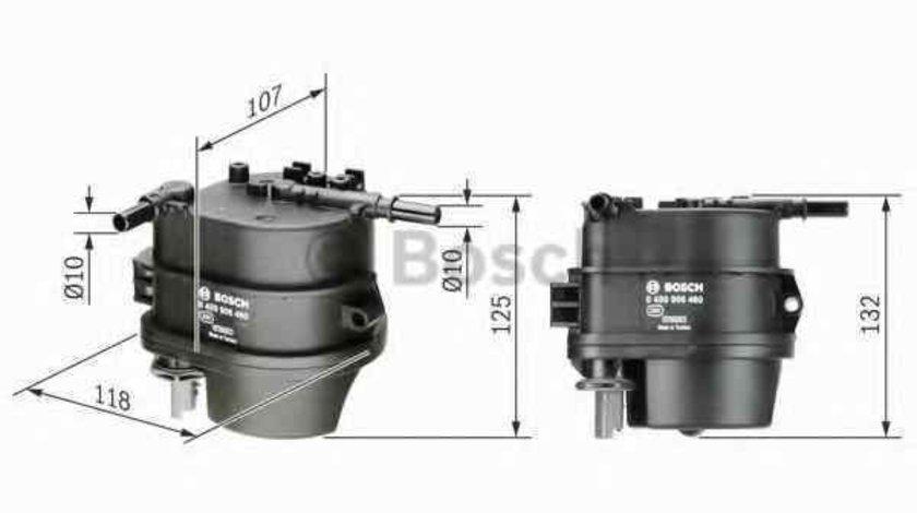 filtru combustibil MAZDA 2 DY BOSCH 0 450 906 460