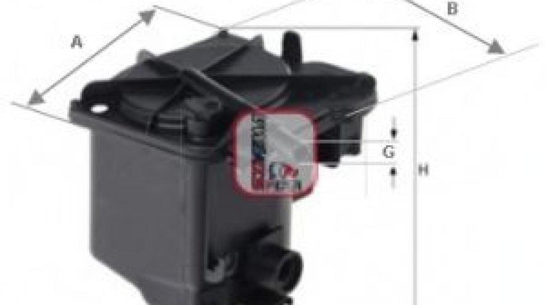 Filtru combustibil MAZDA 3 (BK) (2003 - 2009) SOFIMA S 7420 NR - produs NOU