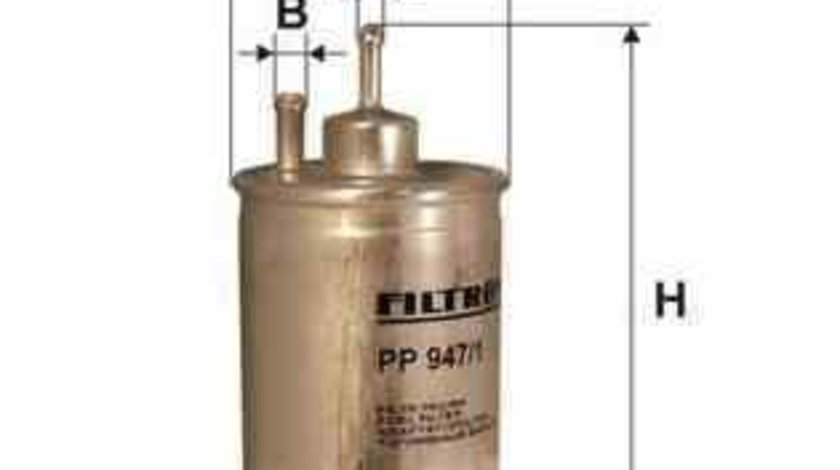 filtru combustibil MERCEDES-BENZ C-CLASS W202 FILTRON PP947/1