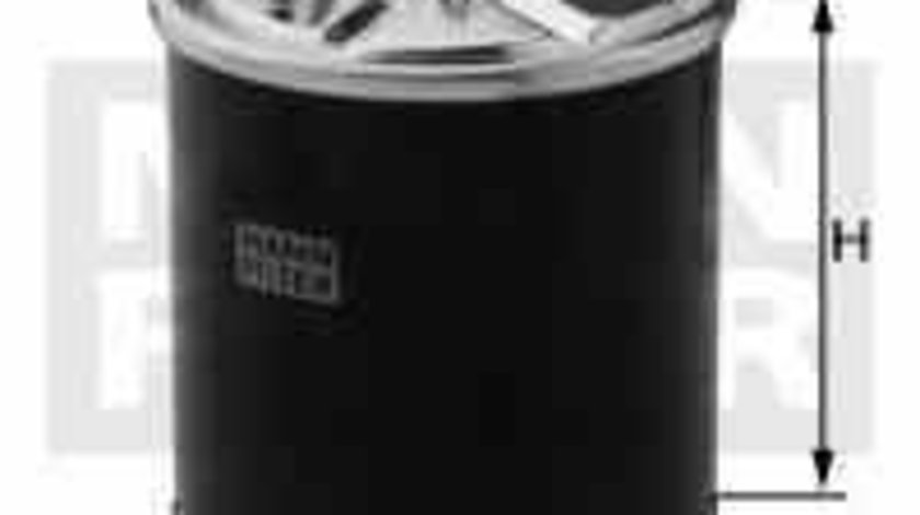 filtru combustibil MERCEDES-BENZ M-CLASS W164 MANN-FILTER WK 820/14