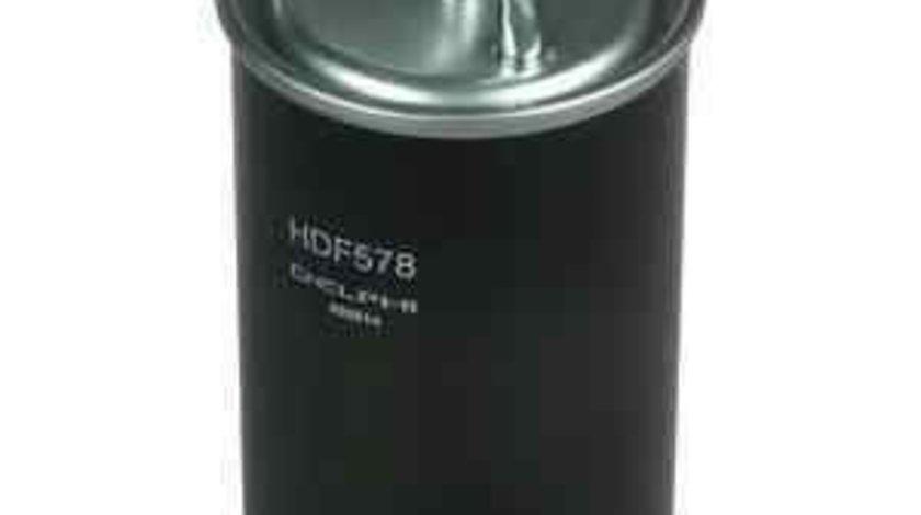 filtru combustibil MITSUBISHI OUTLANDER II Van (CW_W) DELPHI HDF578