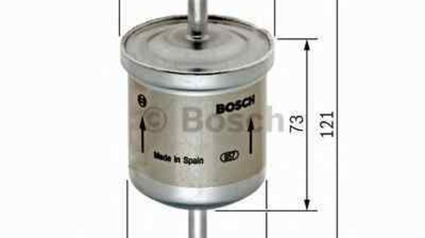 filtru combustibil NISSAN BLUEBIRD T72 T12 BOSCH 0 450 905 326