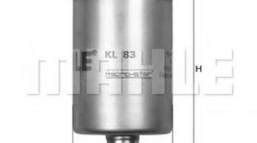 Filtru combustibil OPEL ZAFIRA A (F75) (1999 - 2005) MAHLE ORIGINAL KL 83 - produs NOU