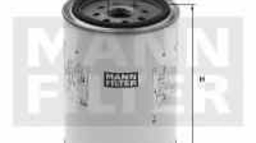 Filtru combustibil Producator MANN-FILTER WK 1142 x