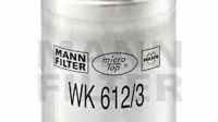 filtru combustibil ROVER 100 / METRO XP Producator MANN-FILTER WK 612/3